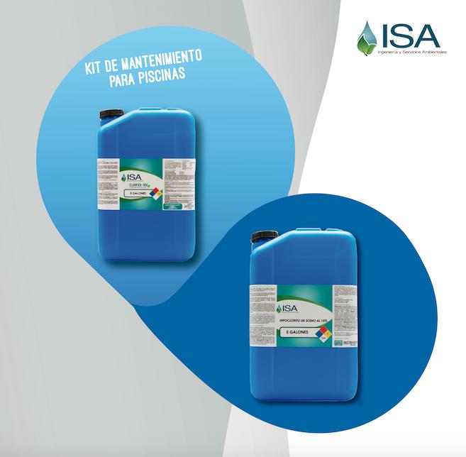 Manual de Uso, Kit de Mantenimiento para Piscinas ISA.